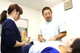 痛みの部分だけでなく、全体を診ることで スピーディーに治療します。